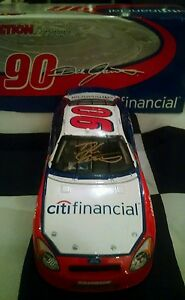 2005 Dale Jarrett  Gold Autographed #90 Citifinancial Busch Series RARE 1/24