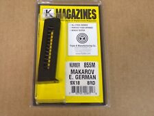 Triple K Mag for East German Makarov 9x18  855M 8 RD Made in USA!