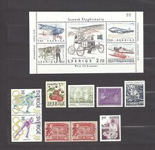 Sweden  Schweden (*) lot 14 stamps c1