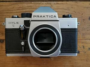 Praktica MTL 5 Kamera Gehäuse Pentacon Body