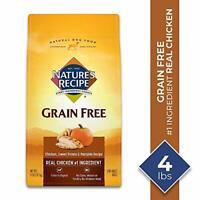 Breed Dry Dog Food Chicken Sweet Potato Pumpkin Nature's Recipe Grain Free Small