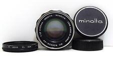 MINOLTA MC ROKKOR-PF 55mm f/1.7 MC MOUNT LENS  from JAPAN