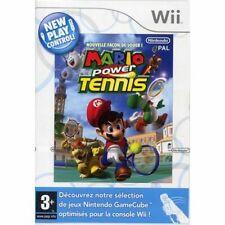 Jeu Nintendo WII  Mario power Tennis New Play Control