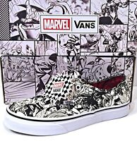 "Vans Authentic ""Woman of Marvel"" -Avengers Endgame-White Shoes SZ (VN0A38EMU5I)"