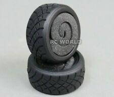 ABC Hobby RC Car 1/12 TIRES Racing Semi Slicks Tamiya M Chassis #25805 (2PCS)