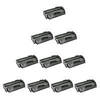 10PK CE505A 05A Toner Cartridge Compatible For HP LaserJet P2055 P2050 P2035