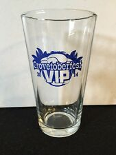 Pint Glass Grovetoberfest VIP 2014 Miami Craft Beer Festival Coconut Grove