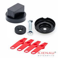 Set 1 x Wagenheber Gummi Adapter Aufnahme für Mercedes + Reifenkennzeichnungsset