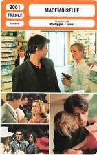 FICHE CINEMA : MADEMOISELLE - Bonnaire,Gamblin,Lioret 2001