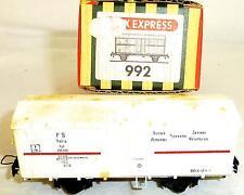 FS Alimentari FREIGHT CAR RIVAROSSI / TRIX EXPRESS 992 OVP H0 1/87 TTP # Å