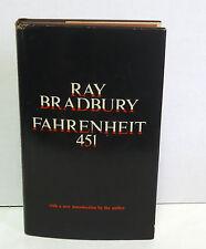 Ray Bradbury FAHRENHEIT 451 Second Edn First Printing VG+