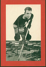 1934-43 Group I Beehive Photos Jimmy Ward Montreal Maroons Hockey Single
