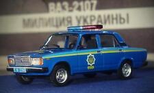 """DeAgostini 1:43 VAZ-2107 police Ukraine """"Police of the world"""""""
