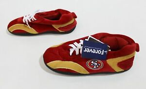 San Francisco 49ers Mens Forever Collectibles All Around Slipper CL8 Size US:7-8