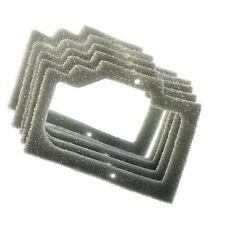 5x HQRP Foam Gasket Air Filters for Homelite 95921, UP06574, UT-10648, UT-10649