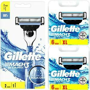 Rasoir Gillette Mach3 Start + 2 Pack XL De Recharges ( 14 lames )