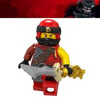 Ninjago Kai Shark Army Jay Kay Master of Spinjitzu Ninja Custom Lego Mini Figure