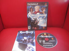 Rogue Galaxy (Sony PlayStation 2, 2007) PS2 Complete RPG Black Label