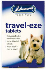 Johnsons Travel-Eze Tablets For Dogs And Cats Pack Of 2