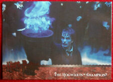 HARRY POTTER AND THE GOBLET OF FIRE - Card #110 - HOGWART'S CHAMPION? - ARTBOX