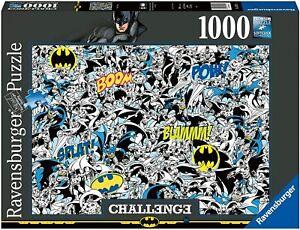 Jigsaw Puzzle - BATMAN CHALLENGE - 1000 Pieces