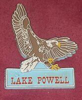 SOARING BALD EAGLE Lake Powell Arizona Magnet Souvenir Travel Refrigerator VTG