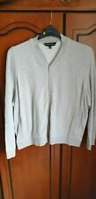 ladies grey zipped cardigan size 26