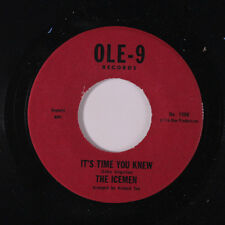 ICEMEN: It's Time You Knew / It's Gonna Take A Lot (to Bring Me Back Baby) 45 (