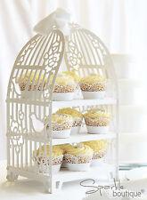Birdcage Cake Stand / Bird Cage Cupcake Stand/Sandwich Stand/Shabby Chic Wedding