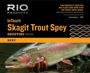 RIO InTouch Skagit Trout Spey Shooting Head Floating 175-350gr, 4.1m-5.2m