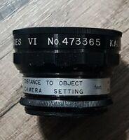 Vintage Kaligar Auxiliary Lens Telephoto Series VI # 473365