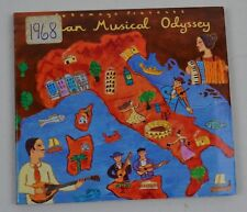 Putumayo Presents Italian Musical Odyssey CD Album World Music Folk Italy