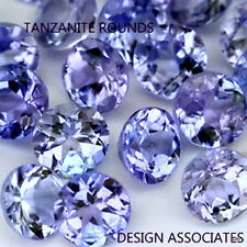 TANZANITE  ROUND  NATURAL GEMSTONE LOT LOOSE 2.25 MM GEMSTONES ONE FULL CARAT 20