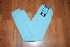 NWT Womens NINE WEST JEANS Gramercy Blue Tint Skinny Roll Cuff Ankle Jeans Sz 14