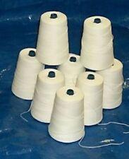 Portable Bag Closer White Thread Case of (32) 8oz Cones