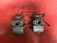 Honda CL72 250 Scrambler Carburetors  CL 72  Carbs  Float Slide Bowl