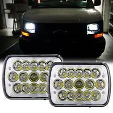 "Pair 7x6"" 5x7"" LED Headlight DOT Lamp for Chevy Express Cargo Van 1500 2500 3500"