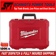 MILWAUKEE M18 18V 2 TOOL CASE FOR DRILL & IMPACT DRIVER or WRENCH M18BDD M18BID