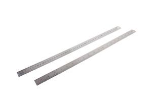 Stahllineal Stahlmaßstab Metalllineal Lineal 500mm Werkstattlineal 50 cm
