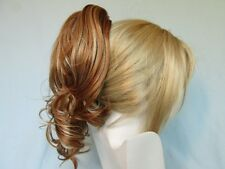 "13"" LONG LOOSE LAYERED CURLS CURLY HAIR PONYTAIL HAIRPIECE HAIRDO CLAW CLIP MENA"