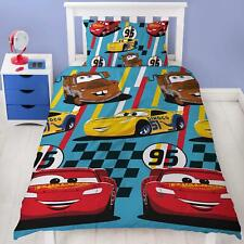 Disney Cars Dinoco Single Duvet Cover Set 100% Polyester Kids Bedroom