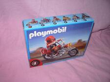 /// PLAYMOBIL 5113 MOTO EASY RIDER CHOPPER AVEC PILOTE NEUF ///