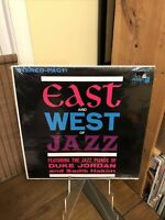 "Duke Jordan & Sadik Hakim-""East and West of Jazz"". (PLP-805 S)  FACTORY SEALED"