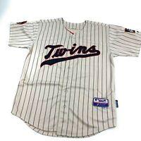 Authentic Joe Mauer Minnesota Twins Majestic Cool Base XXL Stitched MLB Jersey