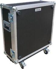 Moog Taurus 3 Bass Pedal Synthesizer Swan Flight Case On Wheels (Hex)