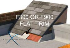 GRP fibreglass roof trim F300 300MM FLAT TRIM FOR UP AND UNDER TILES PER METRE