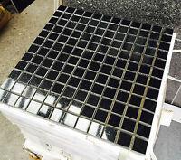 Black Granite Absoluto MOSAIC SHEET / TILE  Wall & Floor Granite  - 300x300x10