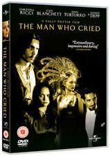 THE MAN WHO CRIED JOHNNY DEPP CHRISTINA RICCI CATE BLANCHETT UNIVERSAL DVD NEW