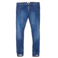 LTB Blue Cotton Blend Margie Slim Jeans Skinny Low Rise Pants Trousers Sz 32/31