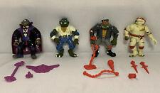 Vintage 1993 Playmates Teenage Mutant Ninja Turtles TMNT Universal Monsters Lot